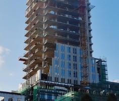 zdjęcie z budowy Unity Centre