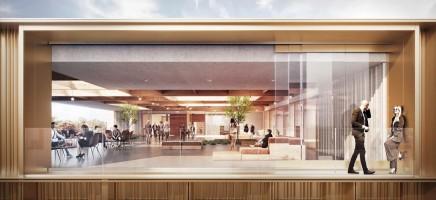 wizualizacje Centrum Przestrzeni Innowacyjnej