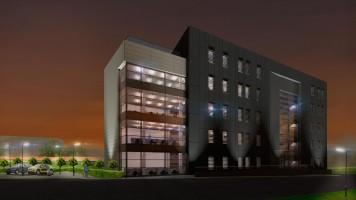 zdjęcie z budowy Biurowiec Pobitno Office