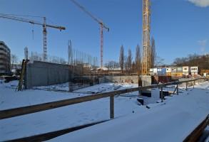 zdjęcie z budowy Mieszczańska ICG Invest