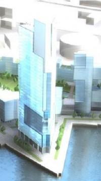 wizualizacje Wieżowiec Młode Miasto 1