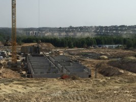 zdjęcie z budowy Lawendowe Wzgórza