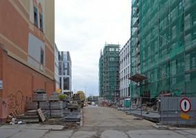 zdjęcie z budowy City Forum
