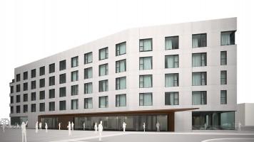 zdjęcie z budowy Arche Hotel