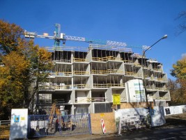 zdjęcie z budowy Potocka Apartamenty