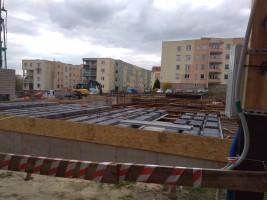 zdjęcie z budowy Korczak Park