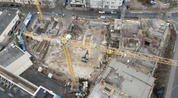zdjęcie z budowy Apartamenty Św. Piotra