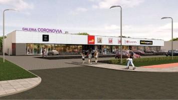 zdjęcie z budowy Galeria Coronovia