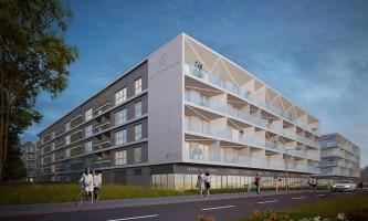 zdjęcie z budowy Solaris Park