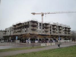 zdjęcie z budowy Stacja Praga