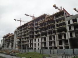 zdjęcie z budowy Bliska Wola