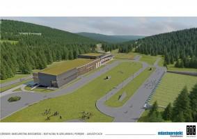 zdjęcie z budowy Dolnośląskie Centrum Sportu