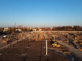 zdjęcie z budowy Centrum Handlowe Karuzela