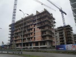zdjęcie z budowy Osiedle przy Arkadii budynek C