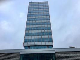 zdjęcie z przebudowy Biurowce Alfa