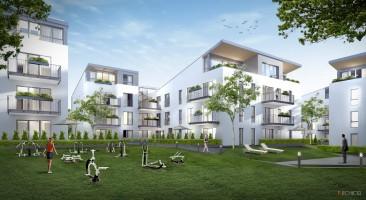 wizualizacje Apartamenty Bursztynowe Wzgórza