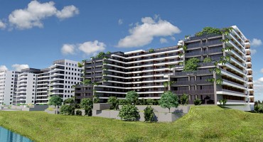 wizualizacje Apartamenty Jagiellońskie Etap III