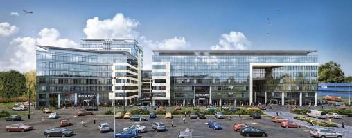 zdjęcie z budowy Olivia Business Centre