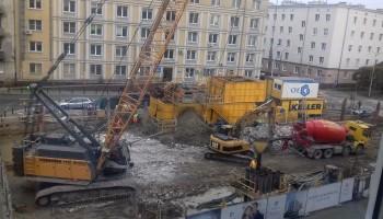zdjęcie z budowy Rezydencja Barska