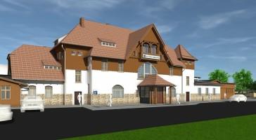 zdjęcie z przebudowy Dworzec Szklarska Poręba Górna