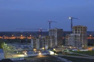 zdjęcie z budowy Park Ostrobramska