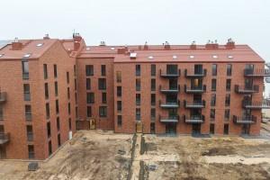 zdjęcie z budowy Osiedle Nove Olendry