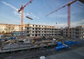 zdjęcie z budowy Osiedle Paryskie
