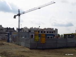 zdjęcie z budowy Ostoja Warzymice