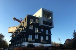 zdjęcie z budowy Apartamentowiec Złota