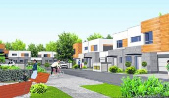 wizualizacje Osiedle domów jednorodzinnych