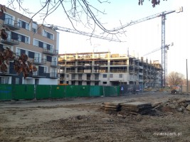 zdjęcie z budowy Riviera Park