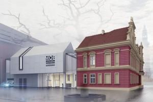 zdjęcie z przebudowy Muzeum Okręgowe