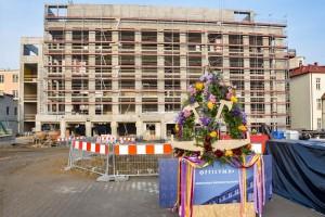 zdjęcie z budowy Biurowiec Officyna
