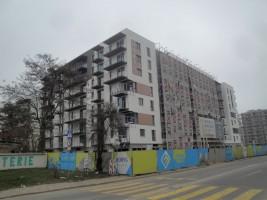 zdjęcie z budowy Forum Wola