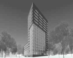 wizualizacje Budynek biurowy