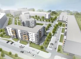 zdjęcie z budowy Osiedle Europejskie