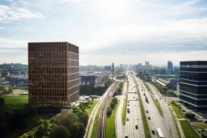 zdjęcie z budowy Silesia for Business