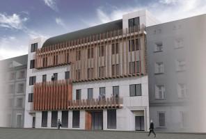 zdjęcie z przebudowy Wrocławski Teatr Współczesny