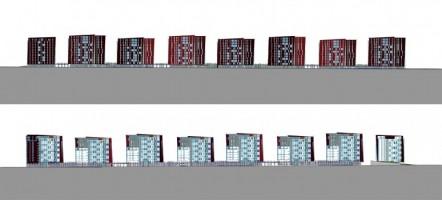 wizualizacje Tetris Park