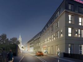 zdjęcie z budowy Hotel Haberfield