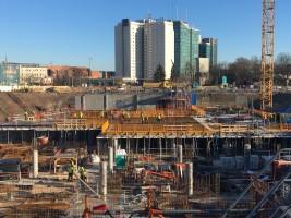 zdjęcie z budowy Nowy Rynek
