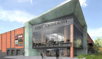 zdjęcie z budowy Galeria handlowa Stara Ujeżdżalnia