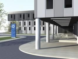 zdjęcie z budowy Komenda Powiatowa Policji