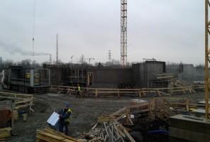zdjęcie z budowy Aleja Pokoju 83