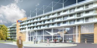 wizualizacje Hilton Garden Inn Kołobrzeg