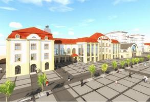 zdjęcie z przebudowy Stary Dworzec