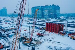 zdjęcie z przebudowy Dworzec Warszawa Zachodnia