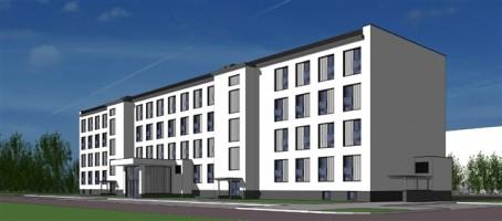 zdjęcie Budynek internatowo-hotelowy AON