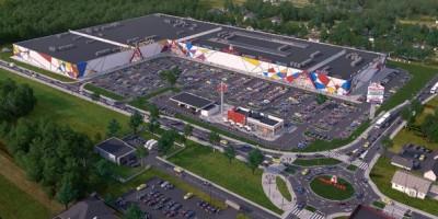 zdjęcie z budowy Color Park