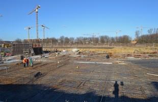 zdjęcie z budowy Osiedle Komedy